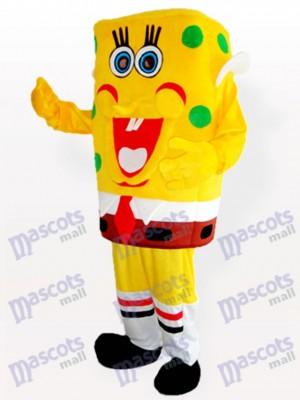 Costume de mascotte adulte garçon spongebob jaune