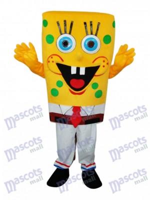 SpongeBob Mascotte Adulte Costume Dessin animé Anime