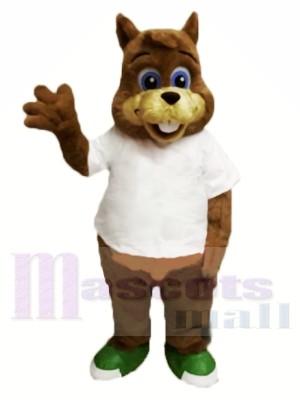 Mignon écureuil léger Costume de mascotte Livraison gratuite