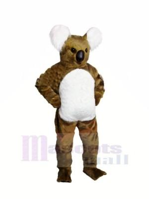 marron Koala Adulte Mascotte Les costumes Animal