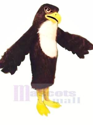 Fort Noir Faucon Adulte Mascotte Les costumes Animal