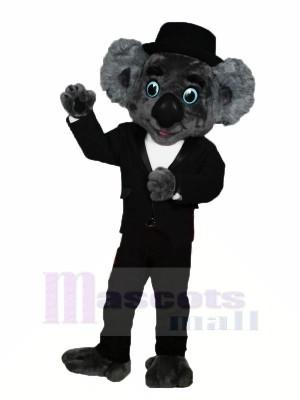 Gentilhomme Koala Mascotte Les costumes Dessin animé