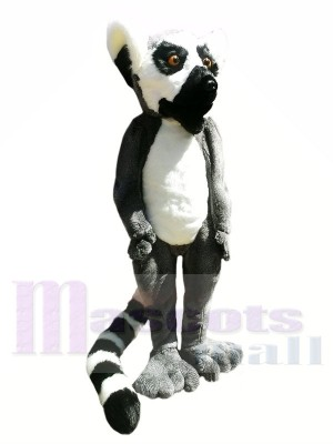 Haute qualité Fourrure de lémurien Costumes De Mascotte