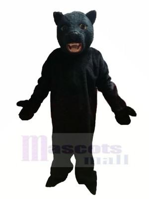 Noir Panthère Mascotte Les costumes Adulte