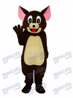 Brown Jerry Rat Mascotte Adulte Costume Dessin animé Anime