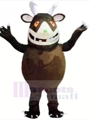 Drôle marron Gruffalo Mascotte Les costumes Animal