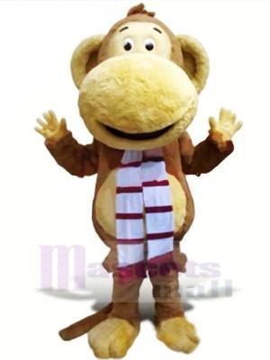 Velu Singe Mascotte Les costumes Dessin animé