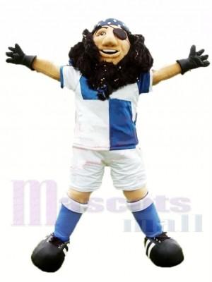 Sportif Pirate Capitaine Costume de mascotte