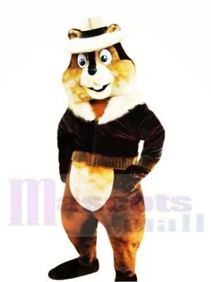Heureux Chipmunk Léger Costumes De Mascotte
