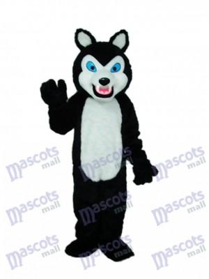 Dents Sharp Loup Mascotte Costume Animal