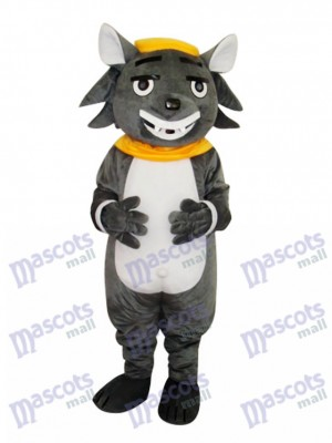 Big Big Wolf Adult Mascot Costume