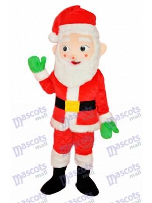 père Noël Adulte Mascotte Costume Noël  Xmas