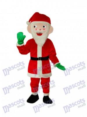 Père Noël Claus Mascotte Costume adulte Noël  Xmas