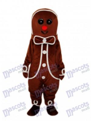 pain d'épice Homme Mascotte Costume adulte Noël  Xmas