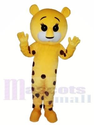 Tigre tacheté Costume de mascotte Pour adultes