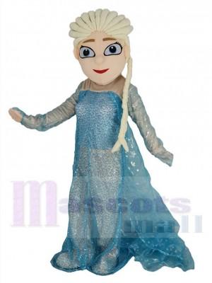 Frozen princesse Elsa costume de mascotte
