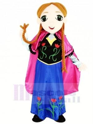 Congelé Princesse Anna Mascotte Costume