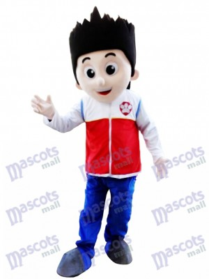 La Pat' Patrouill Paw Patrol Costume de mascotte de Ryder Costume de mascotte de carton de cosplay TYPE B