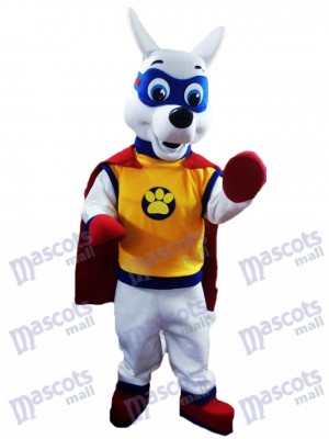 La Pat' Patrouill PAW Patrol Costume de mascotte Apollo the Super Pup chien