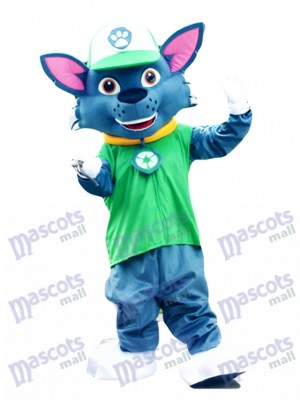 Pat Patrouill Paw Patrol Recyclage écologie Pup Rocky mascotte personnage Costume Eco Pup