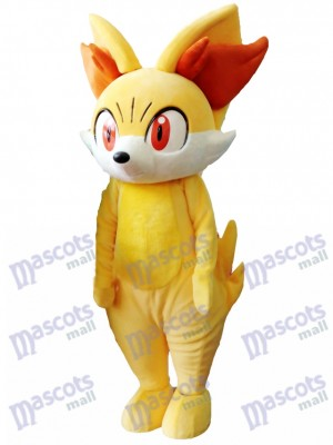 Costume de mascotte en peau de renoncule de renard jaune Pokemon Pokémon GO Pocket Monster