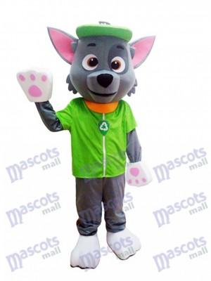 La Pat' Patrouill Paw Patrol Costume de personnage mascotte Rocky Ecology Pup