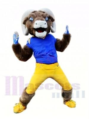 Bélier puissant et sportif Costume de mascotte