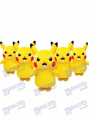 Prêt à être expédié Pokémon Pikachu japonais Costume de mascotte Pokemon Go en stock