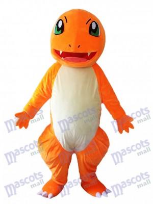 Charmander Dragon Pokemon Pokémon Go Costume de mascotte aux yeux verts