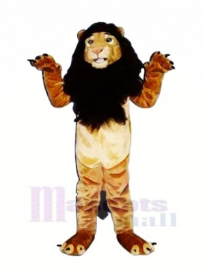 Fort Roi Lion Mascotte Les costumes Adulte