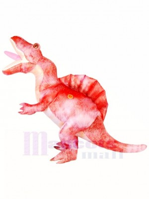 Adultes Rose Spinosaurus Fête d'Halloween Dinosaure Costumes gonflables
