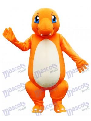 Charmander Dragon Pokemon Pokémon Go Costume de mascotte aux yeux bleus