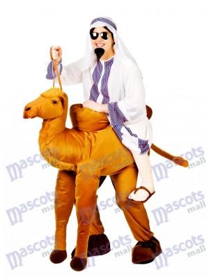 Camel Carry Me Costume Mascotte Ride A Camel Déguisements