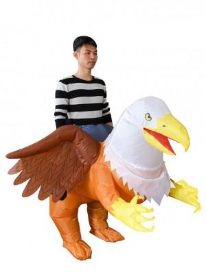 Griffon Aigle Oiseau Porter moi Balade sur Gonflable Costume Halloween Noël Costume pour Adulte