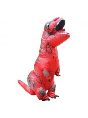 rouge Tyrannosaurus T-Rex Dinosaure Gonflable Costume Halloween Noël pour Adulte/enfant