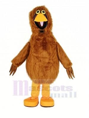 Lumière marron Oiseau Mascotte Costume Animal