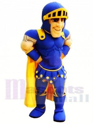 Qualité supérieure Chevalier bleu Costume de mascotte