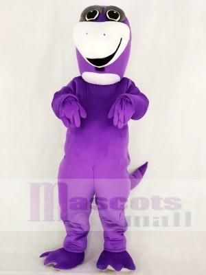 Mignonne Violet Dinosaure Mascotte Costume École