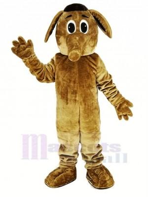 marron Aardvark Mascotte Costume Animal