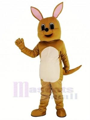 Mignonne marron Kangourou Mascotte Costume Animal