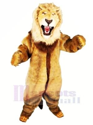 Féroce Lion Mascotte Les costumes Animal