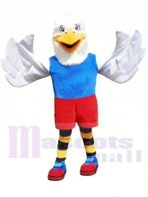 Superbe College Eagle Costume de mascotte