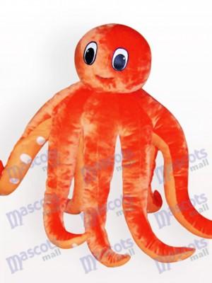Costume de mascotte de bande dessinée de poulpe adulte
