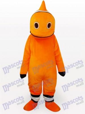 Costume de mascotte adulte de dessin animé de poisson