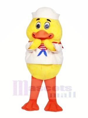 Jaune Bébé canard Mascotte Les costumes Animal