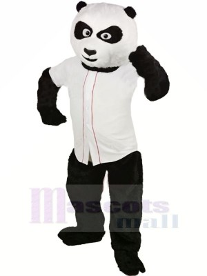 Adulte Base-ball Panda Mascotte Les costumes Animal