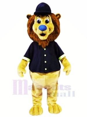 Mignonne Base-ball sport Lion Mascotte Les costumes Animal