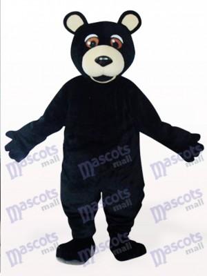 Costume de mascotte en peluche ours noir