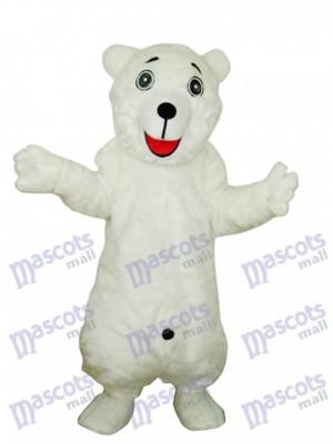 Costume de mascotte adulte ours blanc polaire Animal