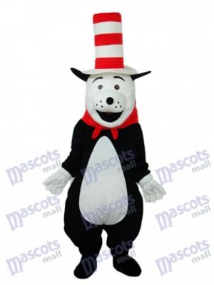 Ours avec chapeau Mascotte Costume adulte Animal
